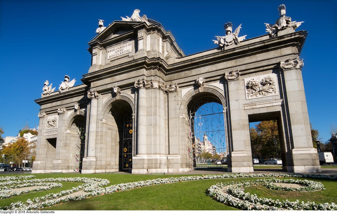 Puerta De Alcalá Patrimonio Cultural Y Paisaje Urbano